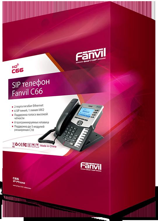 Дизайн упаковки SIP-телефонов Fanvill в разделе «Упаковка» портфолио дизайн-студии «Aedus Design»