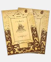 Дизайн меню и карты вин клуба-ресторана «Речная 1»