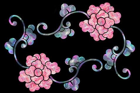 Иллюстрация цветочного орнамента