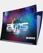 Квартальный календарь «SM Service» на 2015 год
