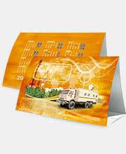 Календарь домик для компании «РК Телеком»