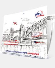 Календарь «AlevTrans» на 2020 год